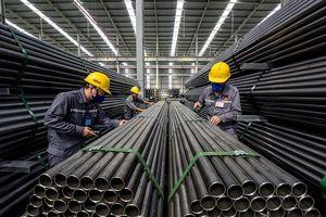 VDSC: Sản lượng tiêu thụ thép tăng trưởng nhanh hơn ngành xây dựng, chủ yếu nhờ vào hoạt động xuất khẩu.