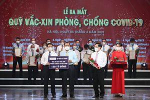 Trong ngày 5/6, T&T Group đã chuyển khoản 120 tỷ đồng cho Quỹ Vaccine phòng COVID-19 Việt Nam