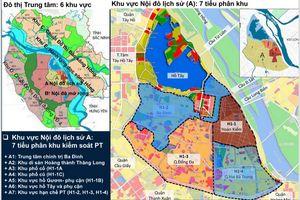 Quy hoạch phân khu nội đô lịch sử: Không gian đô thị chủ yếu là công trình thấp tầng