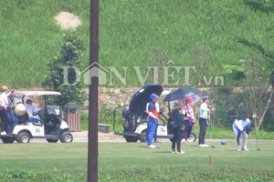 Sân golf Kim Bảng tấp nập trong đại dịch: UBND tỉnh Hà Nam vào cuộc
