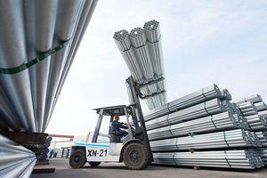 Sản lượng ống thép Hòa Phát tăng 11% trong tháng 2/2021