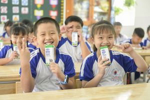 Chương trình Sữa học đường TP.Hồ Chí Minh mở rộng 24 quận, huyện