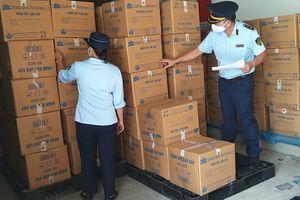 Bình Dương: Thu giữ 13.200 khăn giấy có dấu hiệu giả mạo nhãn hiệu Vietnam Airlines