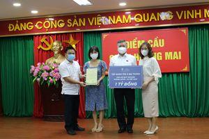 Tập đoàn Tân Á Đại Thành đã ủng hộ 1 tỷ đồng vào Quỹ vắc-xin phòng chống COVID-19