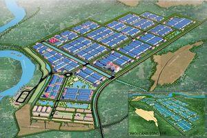Bắc Giang: Duyệt quy hoạch Khu công nghiệp Yên Lư 377ha
