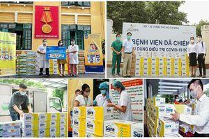 Vinamilk Sure Prevent Gold tri ân những chiến sỹ áo trắng đã luôn là vùng xanh hy vọng của người dân Việt Nam