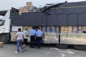 Bình Thuận: Ngăn chặn hơn 400.000 khẩu trang đang trên đường đi tiêu thụ