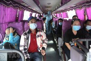Chuẩn bị đầy đủ phương tiện để đưa người dân từ TP.HCM về quê