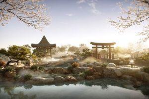 """Cận cảnh tổ hợp Onsen 1.000 tỷ  trong Ecopark, phát triển bởi ba """"Ông Lớn"""" Nhật Bản"""