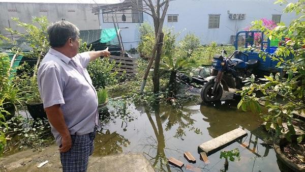 Nhiều hộ dân bị ảnh hưởng bởi chủ đầu tư dự án Trị Yên Riverside lấp sông